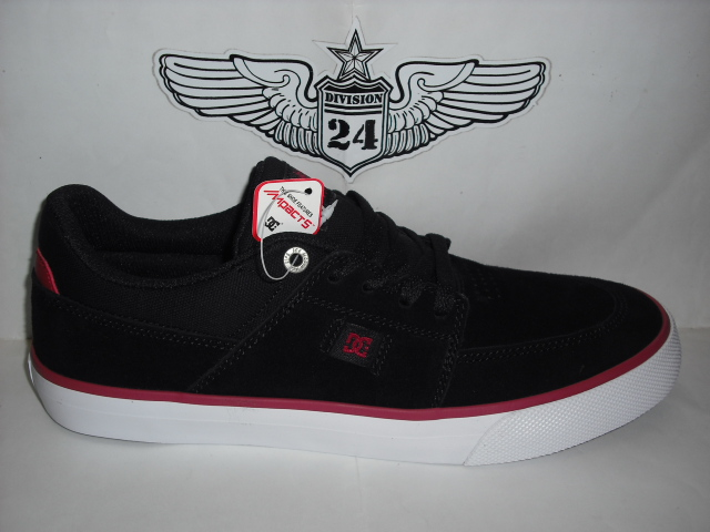 DC Wes Kremer S Shoes Black Red White