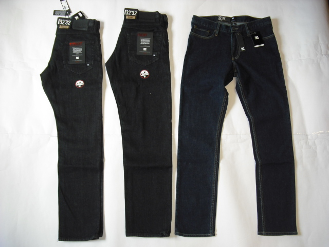 DC Worker Jeans Straight & Roomy Fit