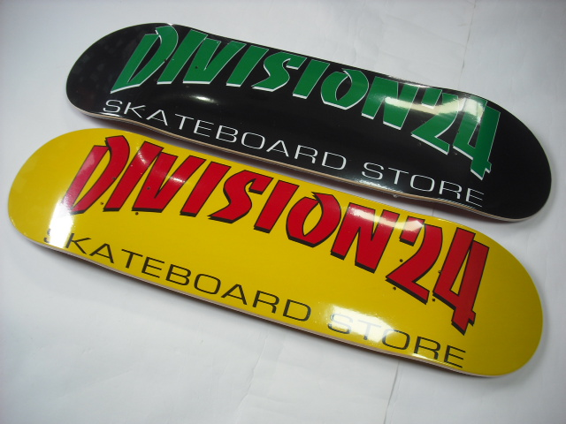 Division 24 Banco Deck Black & Yellow