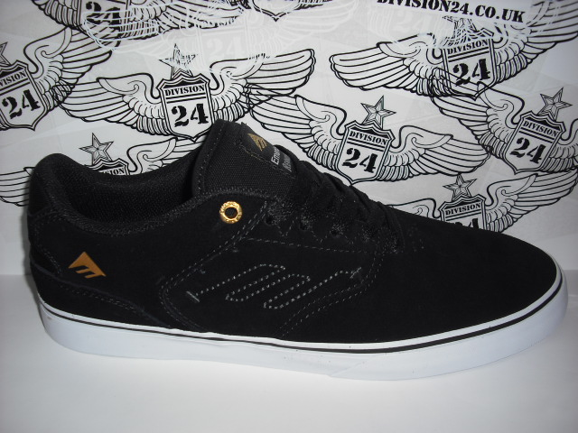 Emerica The Reynolds Low Shoes Black White
