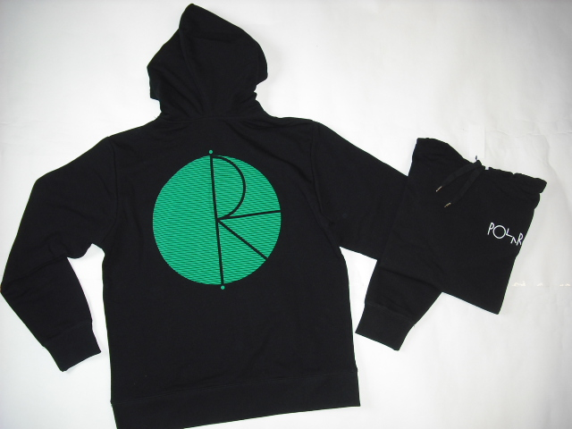 Polar Fill Logo Behind The Curtain Hooded Top