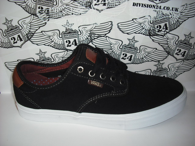 VANS Chima Ferguson Shoes Black / Mahogany