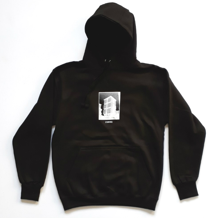 01924 - Resident - Pullover Hooded Sweatshirt - Black