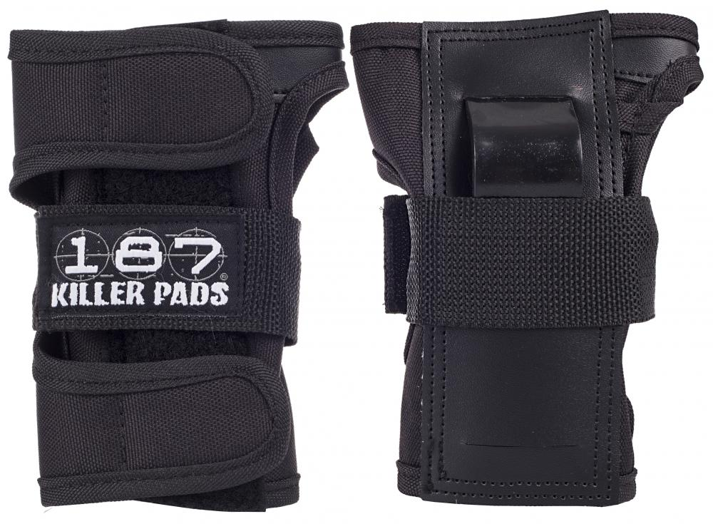 187 Killer Pads - Pro Wristguards - Black