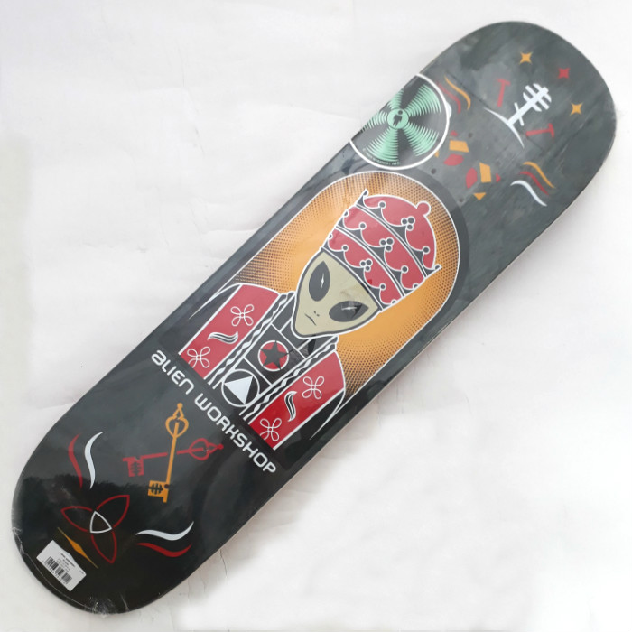 Alien Workshop - Priest Logo - Skateboard Deck 8.25