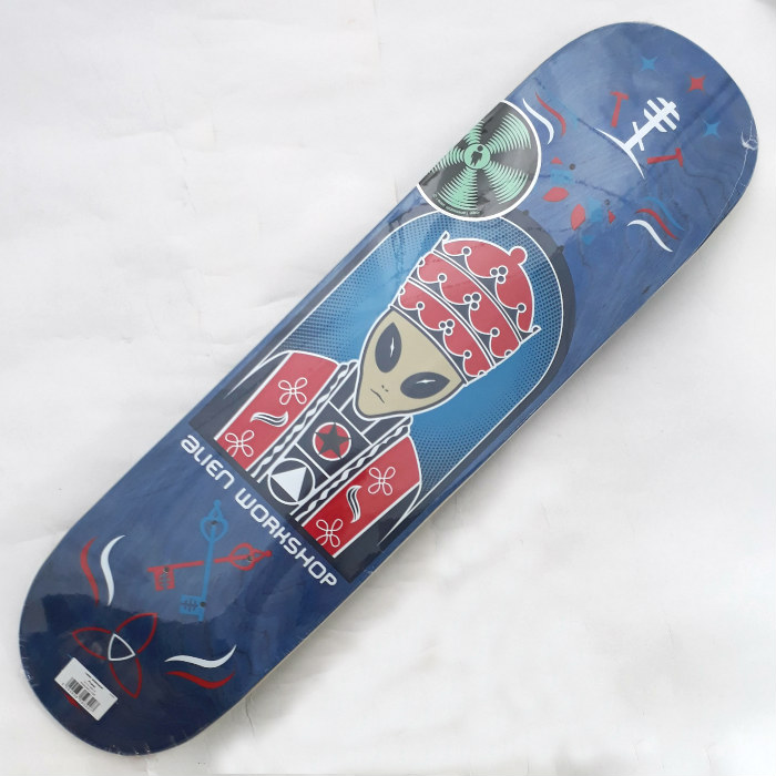 Alien Workshop - Priest Logo - Skateboard Deck 8.00