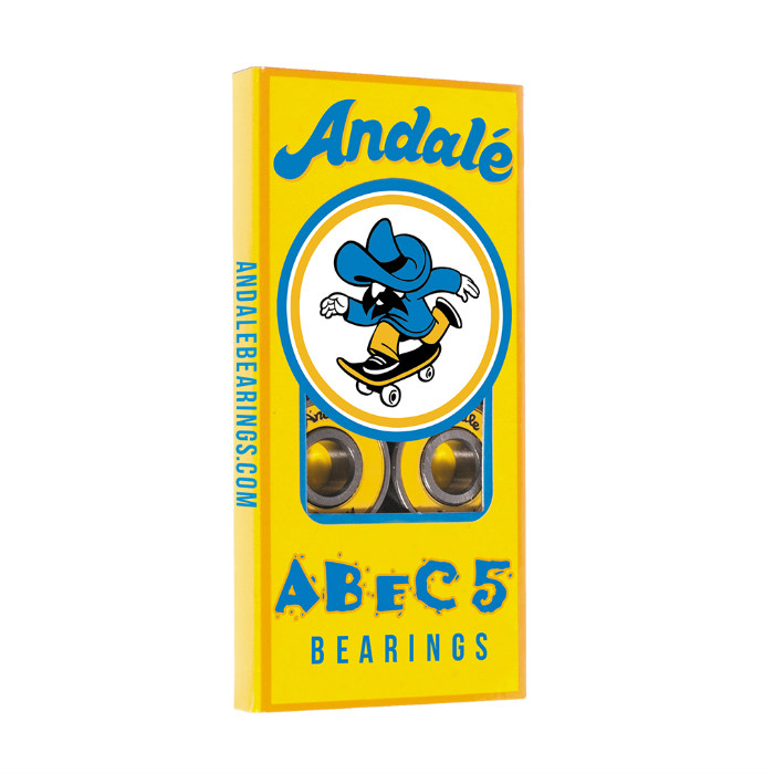 Andale Bearings - Abec 5 - Skateboard Bearings