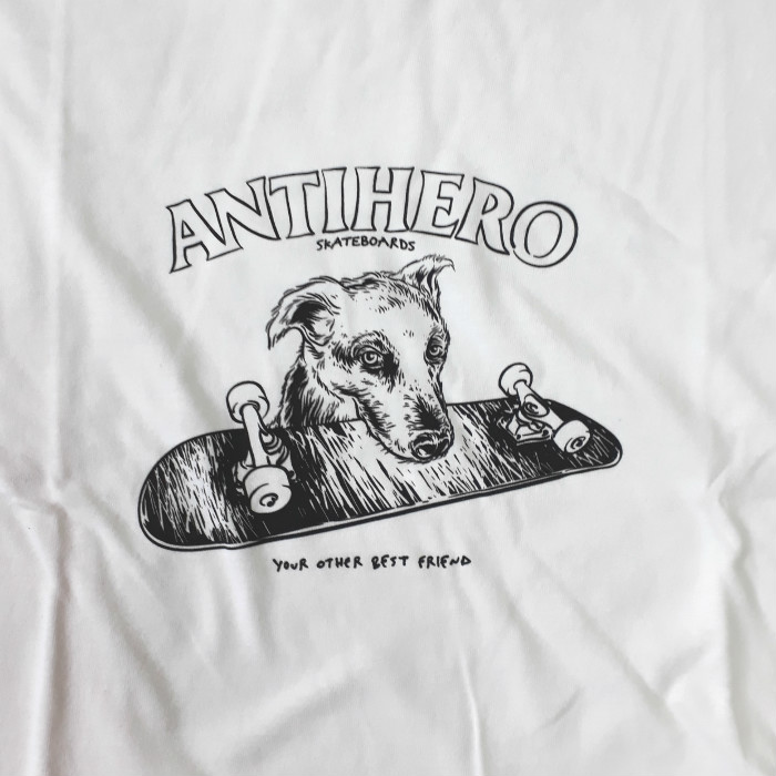 Anti-Hero-Skateboards-Best-Friend-T-Shirt-White-A