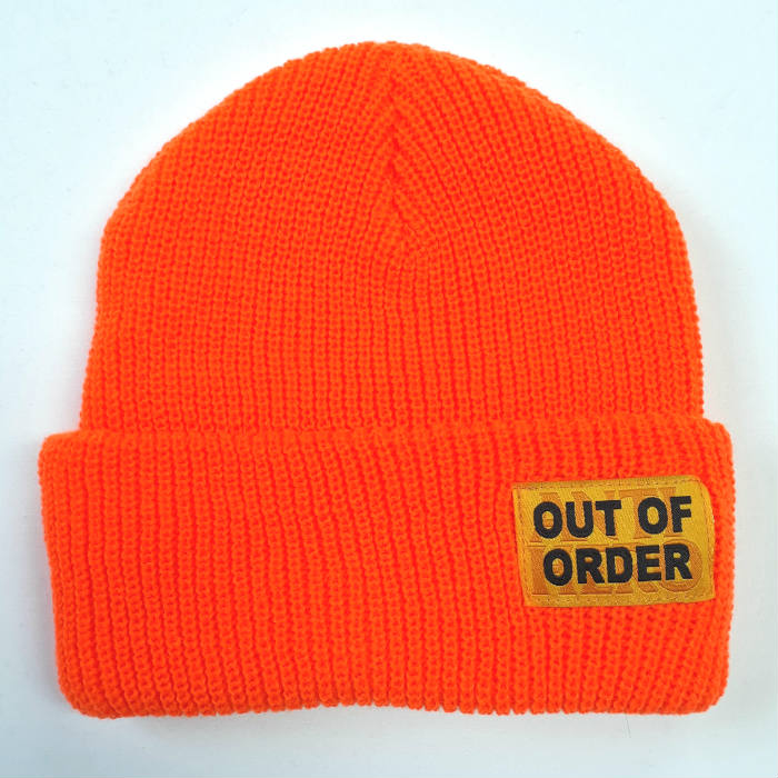 Anti Hero Skateboards - Out of Order - Cuff Beanie Hat - Safety Orange