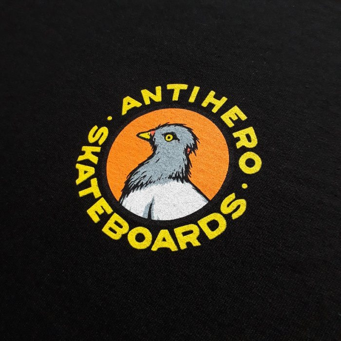 Anti-Hero-Skateboards-Pigeon-Round-T-Shirt-Black-A