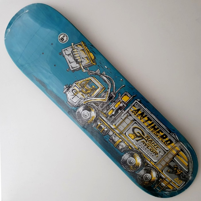 Anti Hero Skateboards - Taylor Curbside Service - Skateboard Deck 8.75