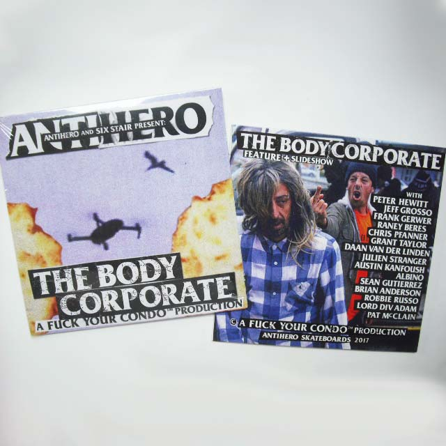 Anti Hero Skateboards - The Body Corporate DVD