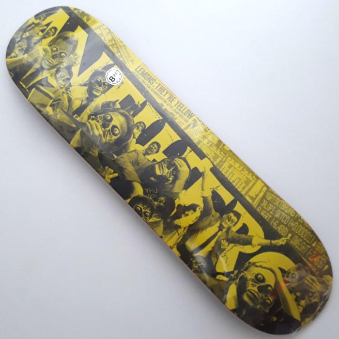 Anti Hero Skateboards - They Panic Price Point - Skateboard Deck 8.25