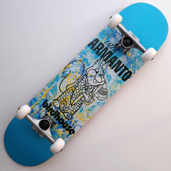 Birdhouse - Armanto Show Print - Stage 1 - Complete Skateboard 8.00