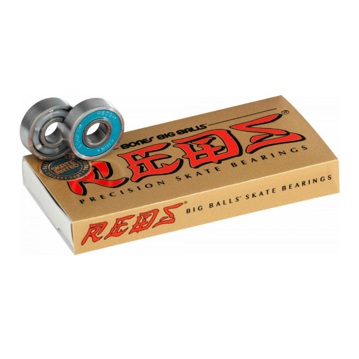 Bones Bearings - Big Balls Reds - Skateboard Bearings