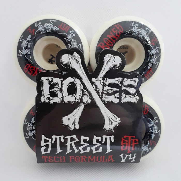 Bones Wheels - STF Annuals - V4 Shape - Skateboard Wheels 54mm