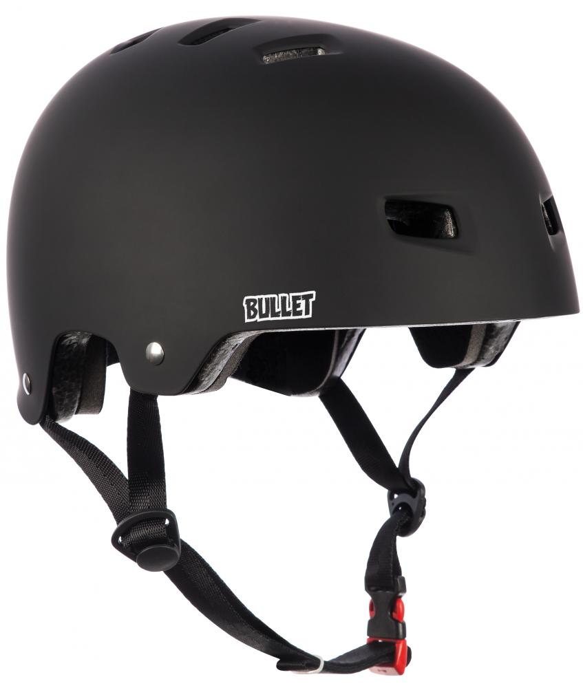 Bullet Skateboards - Deluxe T35 Helmet - Matt Black