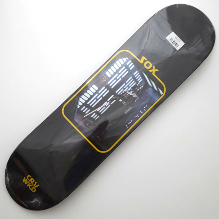Carve Wicked - Darthblader - Skateboard Deck 8.00