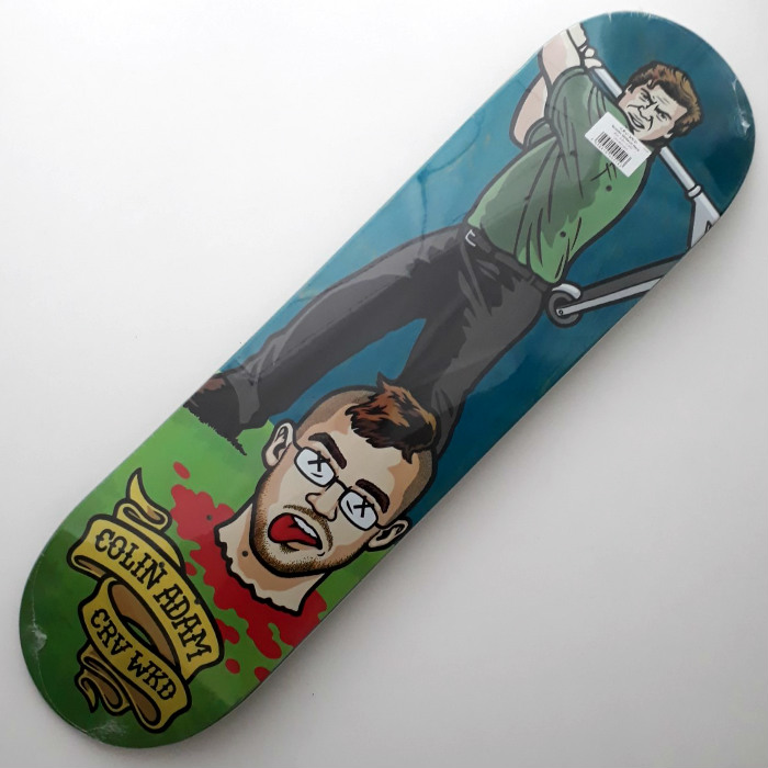 Carve Wicked - Scooter McGavin - Skateboard Deck 8.25
