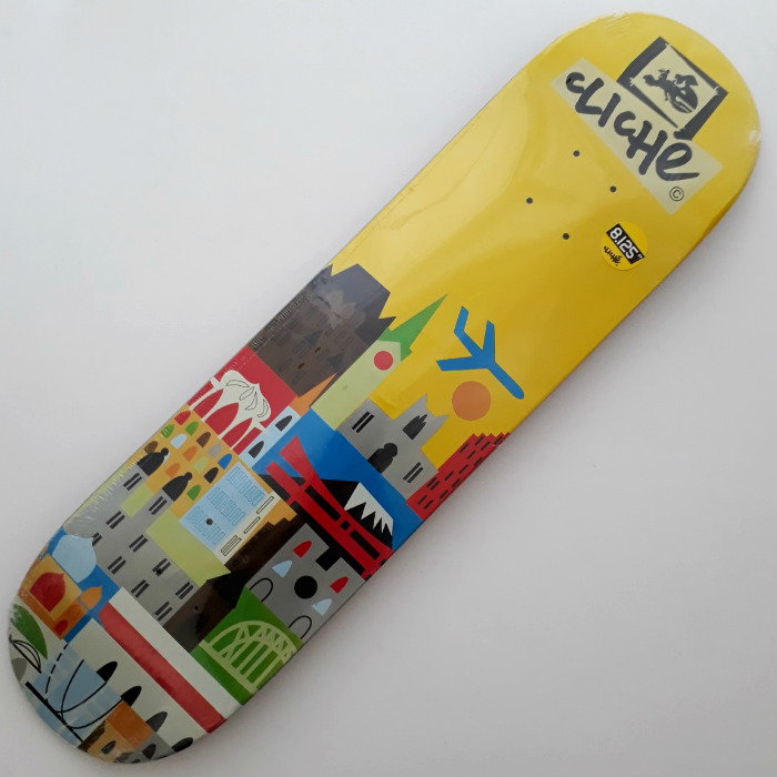 Cliche Skateboards - Travel - Skateboard Deck 8.125