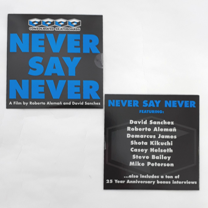 Consolidated Skateboards - Never Say Never - DVD