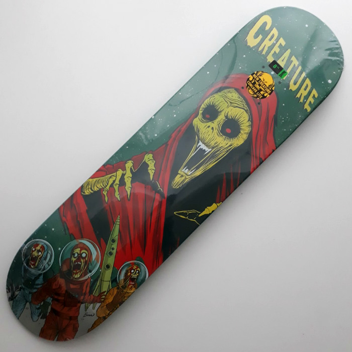 Creature Skateboards - Space Horrors - Skateboard Deck 8.00