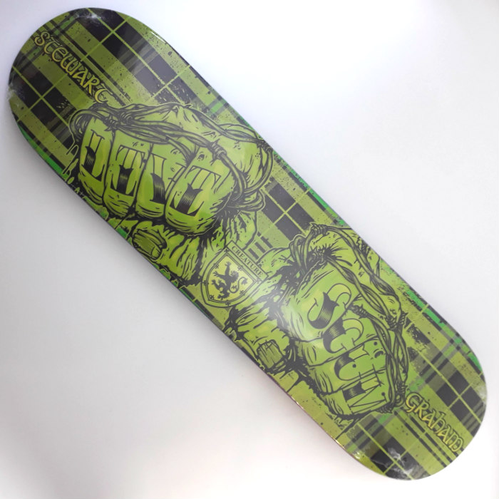 Creature Skateboards - Stu Graham - Livi Scum Ltd - Skateboard Deck 8.80
