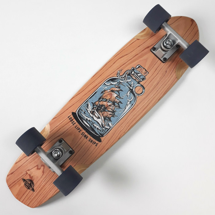 D-Street - Loose Lips Cherry - Complete Cruiser Skateboard