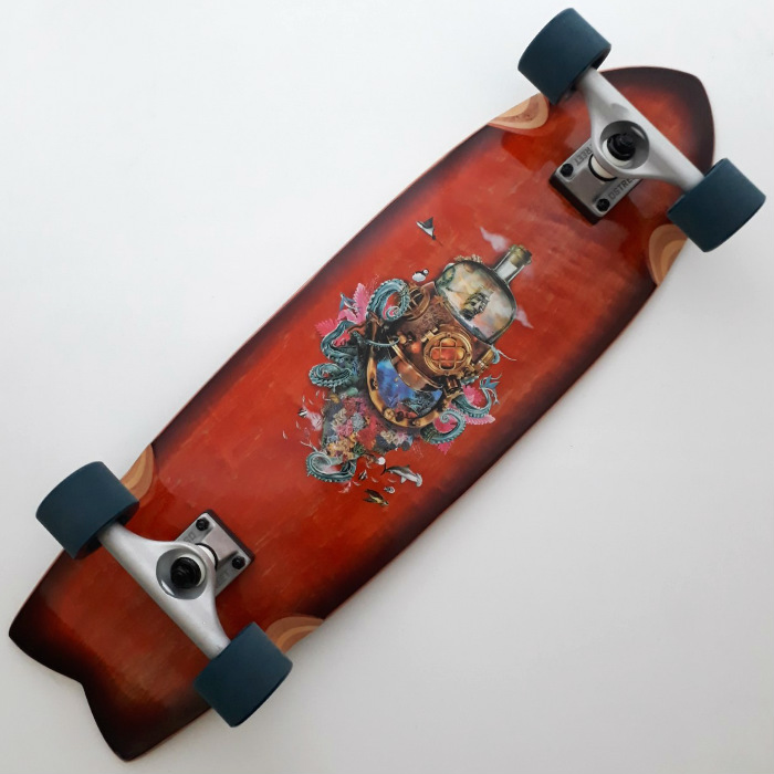 D-Street - Nautical - Complete Cruiser Skateboard