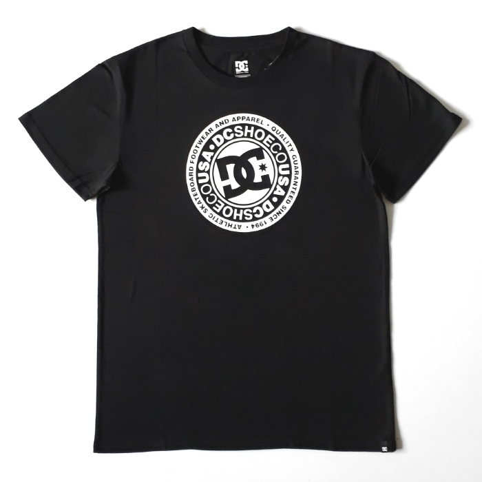 DC Shoe Co - Circle Star T-Shirt - Black
