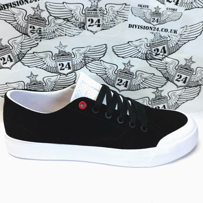 DC Shoe Co - Evan Smith - Low Zero S Shoes - Black/Athletic Red