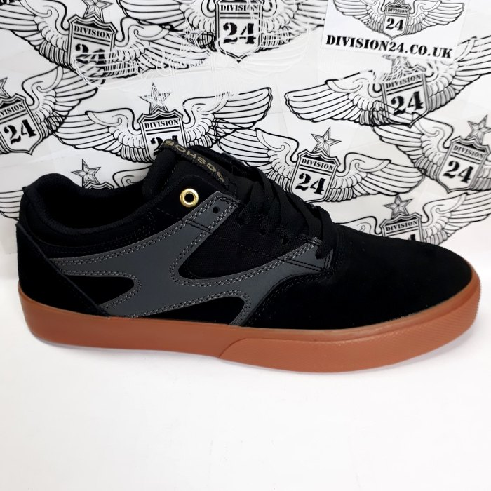 DC Shoe Co - Kalis Vulc Shoes - Black/Grey