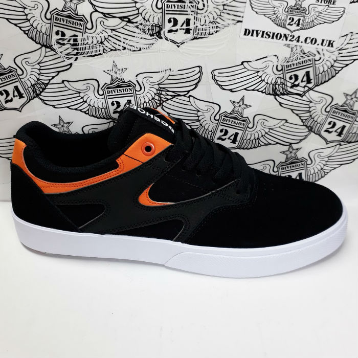 DC Shoe Co - Kalis Vulc S Shoes - Black/Orange