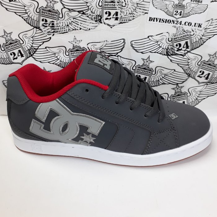 DC Shoe Co - Net Shoes - Grey/Grey/Red