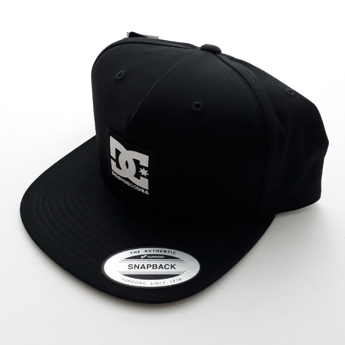 DC Shoe Co - Snapdripp - Snapback Cap - Black