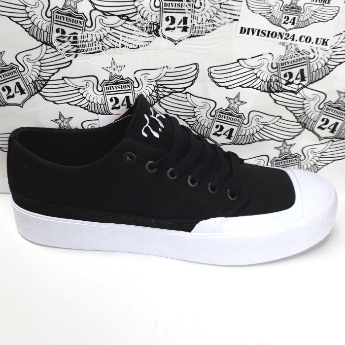 DC Shoe Co - T-Funk Lo S x Tati Shoes - Black/Black/White