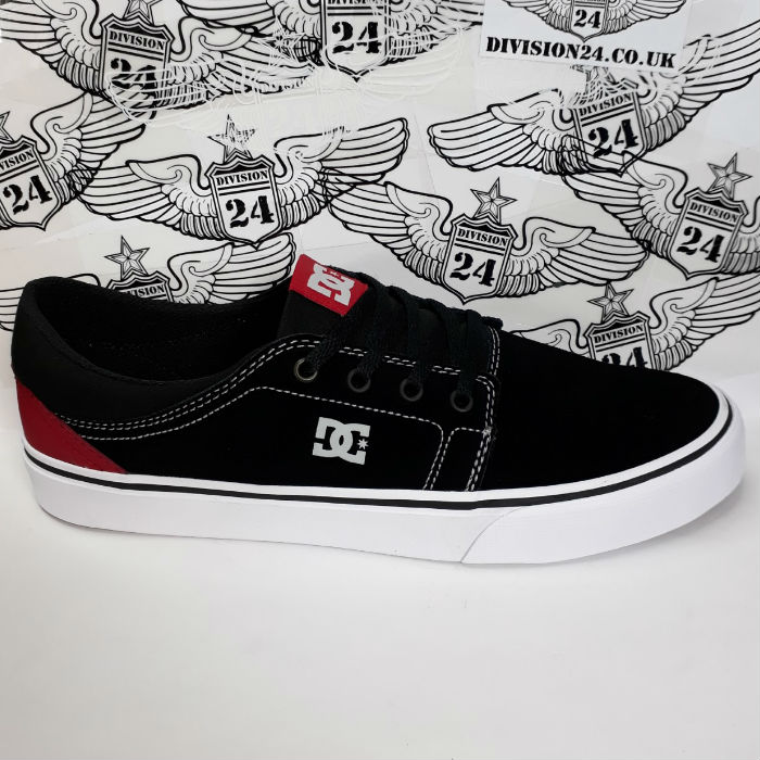 DC Shoe Co - Trase SD Shoes - Black/Red/Grey