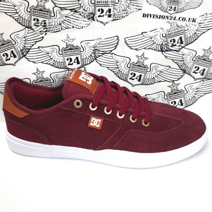 DC Shoe Co - Vestrey S AR Shoes - Red/Brown/White