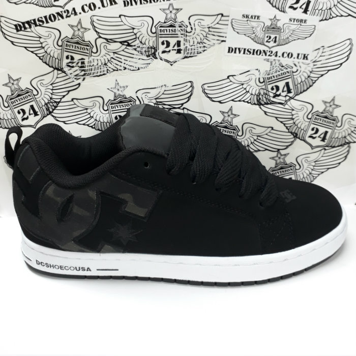 DC Shoe Co - Court Graffik SE Shoes - Black/Camo