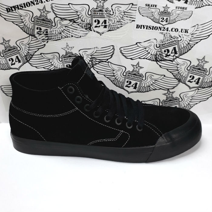 DC Shoe Co - Evan Smith - Hi Zero S Shoes - Black/Black/Black