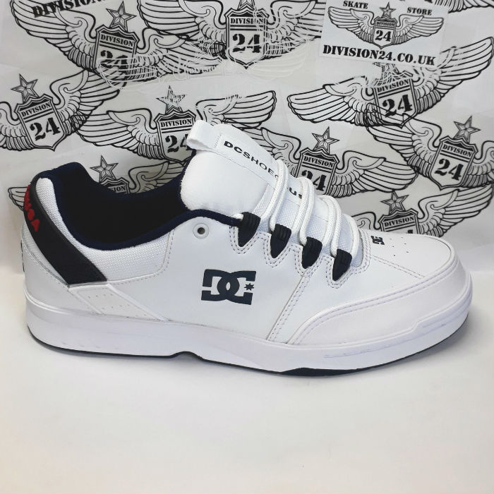 DC Shoe Co - Syntax Shoes - White/Navy