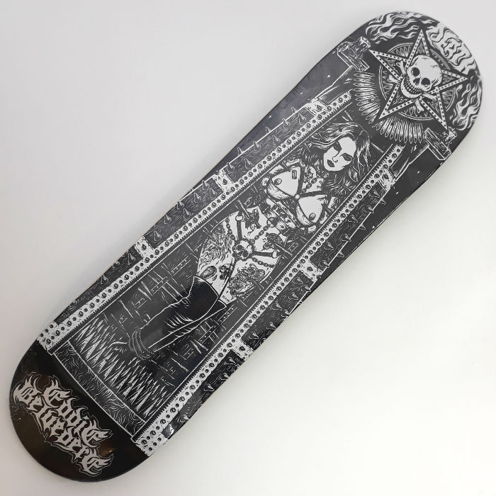 Death Skateboards - Belvedere Maiden - Skateboard Deck 8.25