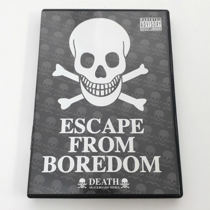 Death Skateboards - Escape From Bordom - Skateboard DVD