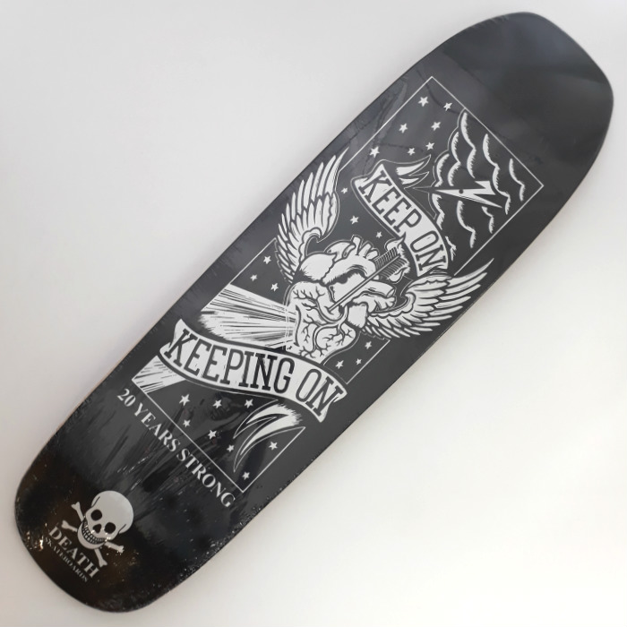 Death Skateboards - Keep On - Shaped Skateboard Deck 9.00