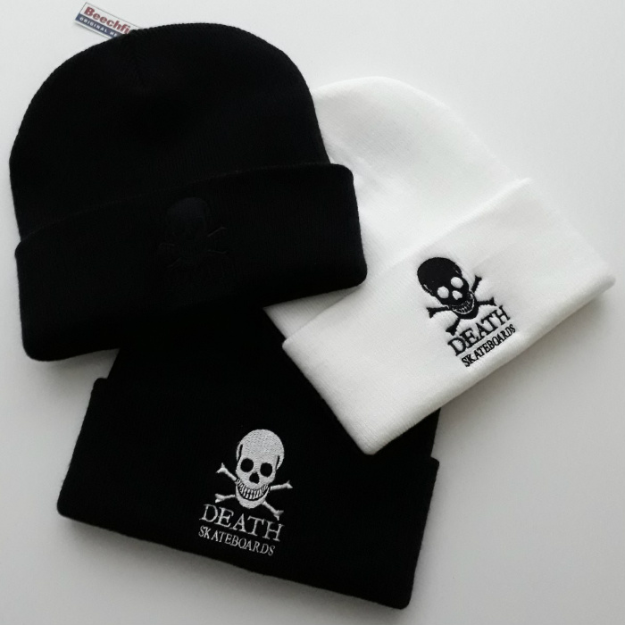 Death Skateboards - OG Skull - Cuff Beanie Hat