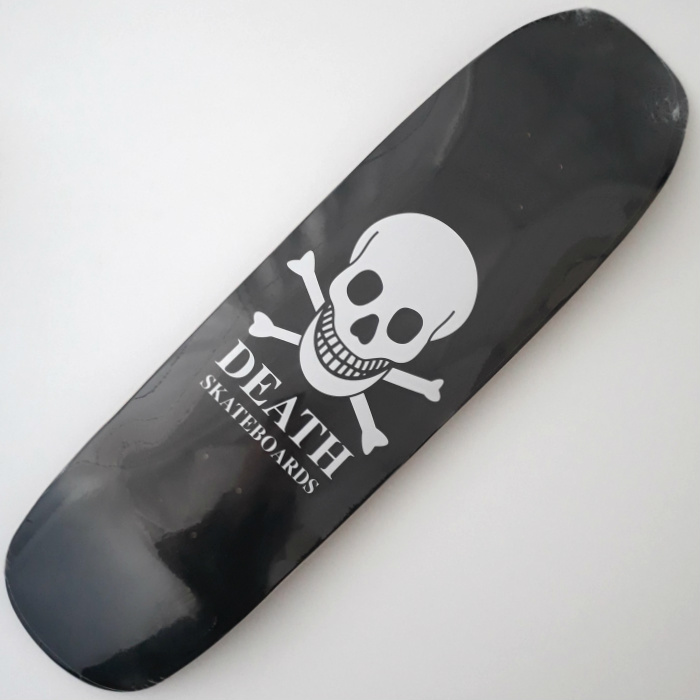 Death Skateboards - OG Skull - Shaped Skateboard Deck 9.00