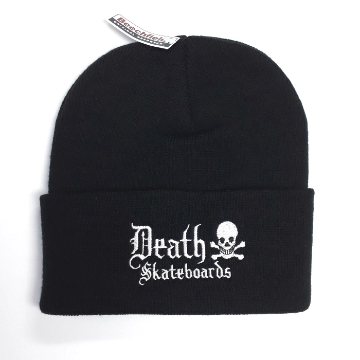 Death Skateboards - Old English - Cuff Beanie Hat - Black