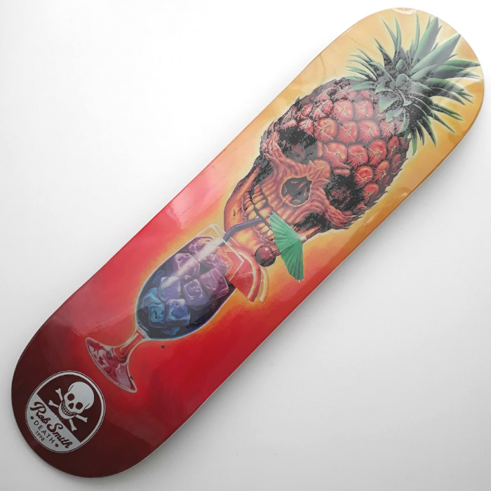 Death Skateboards - Rob Smith Pineapple - Skateboard Deck 8.50