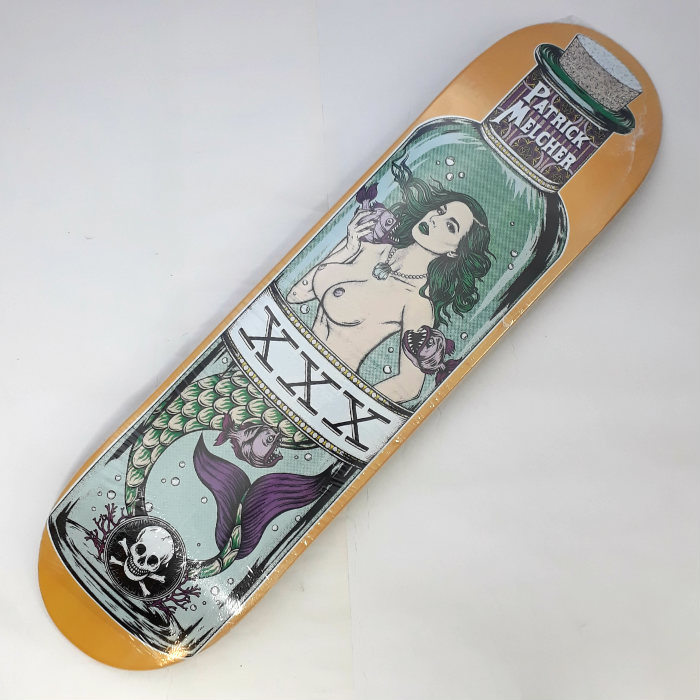 Death Skateboards - Patrick Melcher Mermaid - Skateboard Deck 8.25