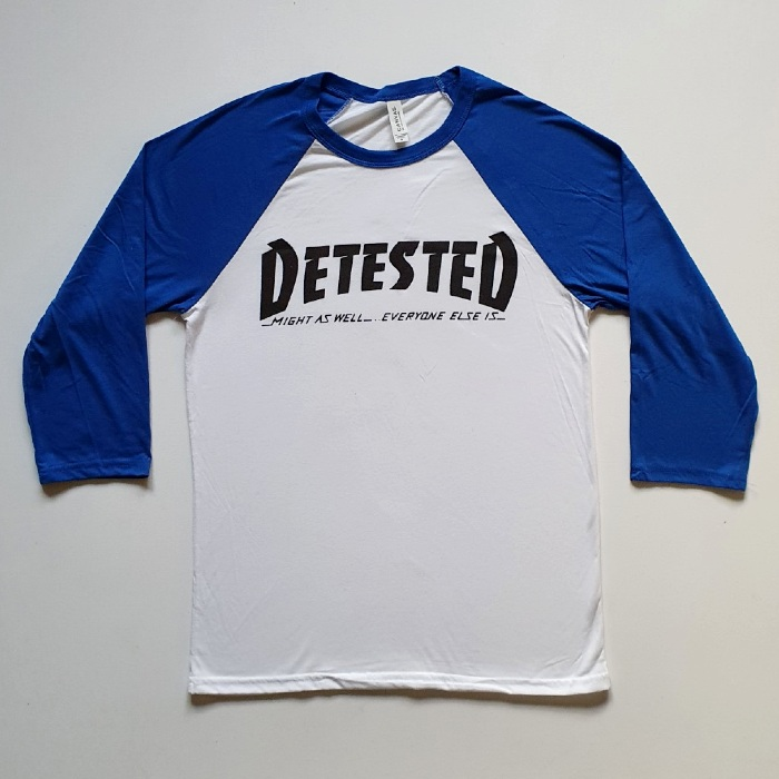 Detested Skateboards - Might As Well - Raglan Shirt